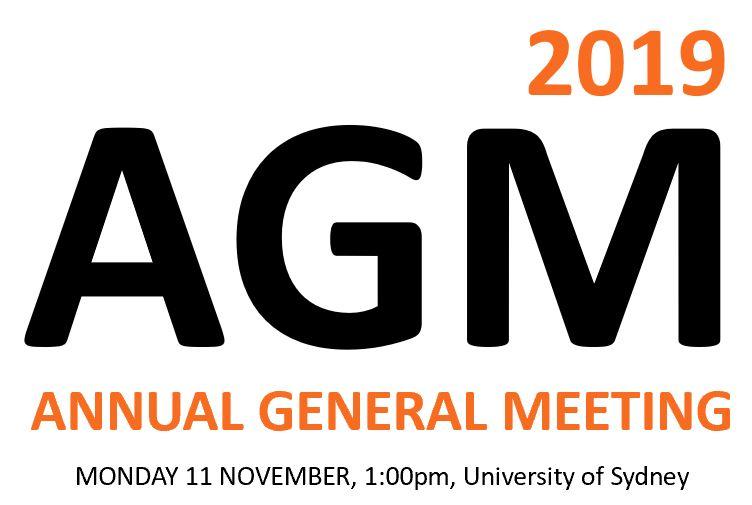 Notice of 2019 ACSA AGM